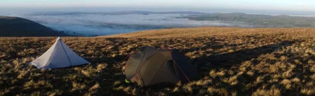 Wild Camping: Castle Knott, Yorkshire Dales