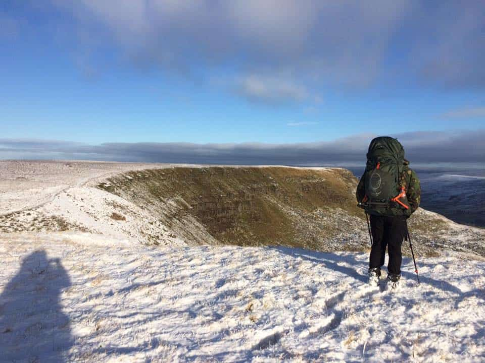 Wild Camping: Wild Boar Fell, Yorkshire Dales