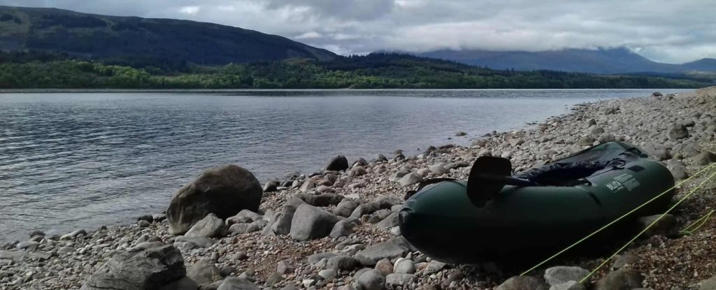Great Glen Canoe Trail Day 2 – Loch Lochy to Loch Oich